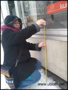 Measuring the windows